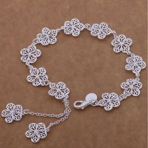 - New 925 sterling silver classic FLOWER Bra…